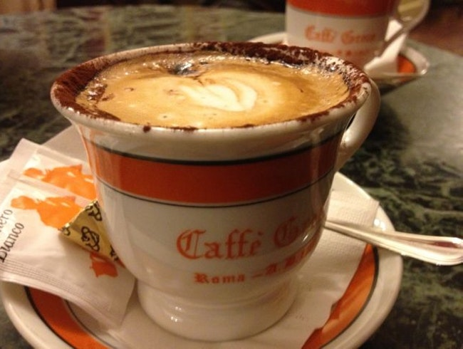 Coffee and History in Rome