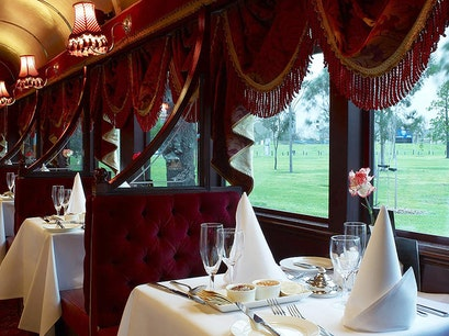 Colonial Tramcar Restaurant Southbank  Australia
