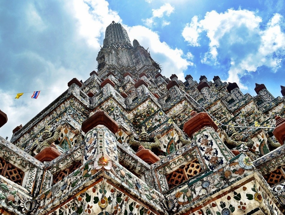 Wat Arun—The Temple of the Dawn Bangkok  Thailand