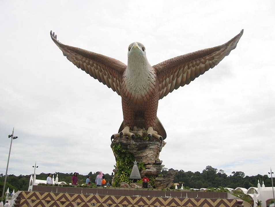 Flying with an Eagle Langkawi  Malaysia