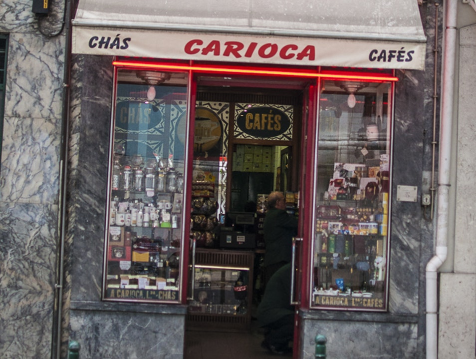 A Carioca, Best Choice for Cafe and Chocolate  Lisbon  Portugal