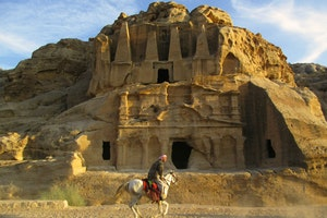 Petra - Tomb of Obelisks