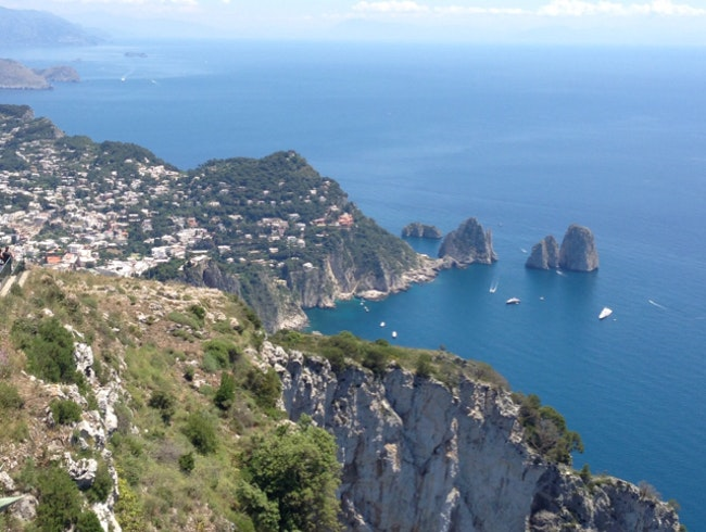 Peak of Capri