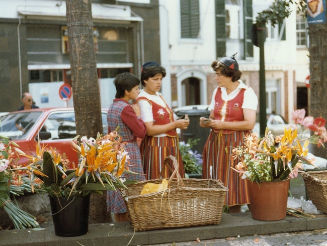 Flower Sellers of Funchal, Madeira Island