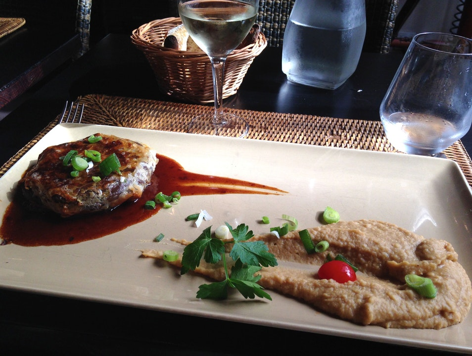 French-African-Asian Cuisine in the 6th Paris  France