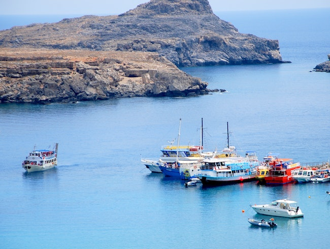 Chill out in Lindos Rhodes