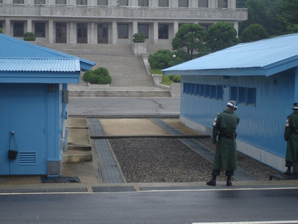 DMZ - Border between North & South Korea