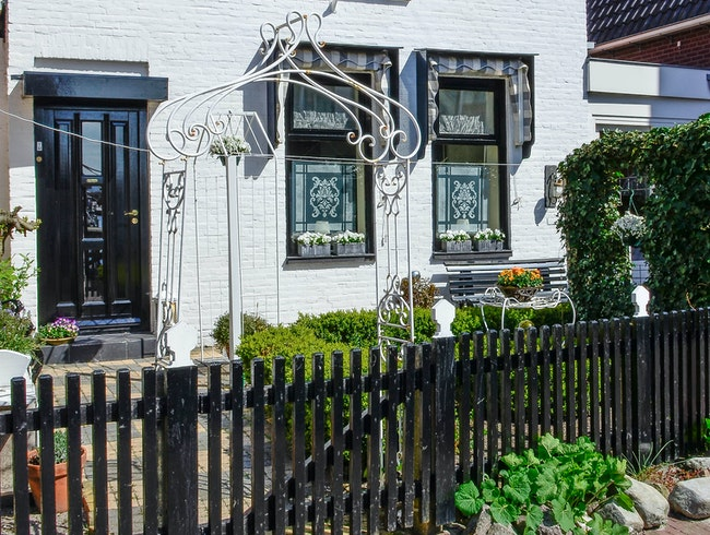 The beauty of Urk's houses
