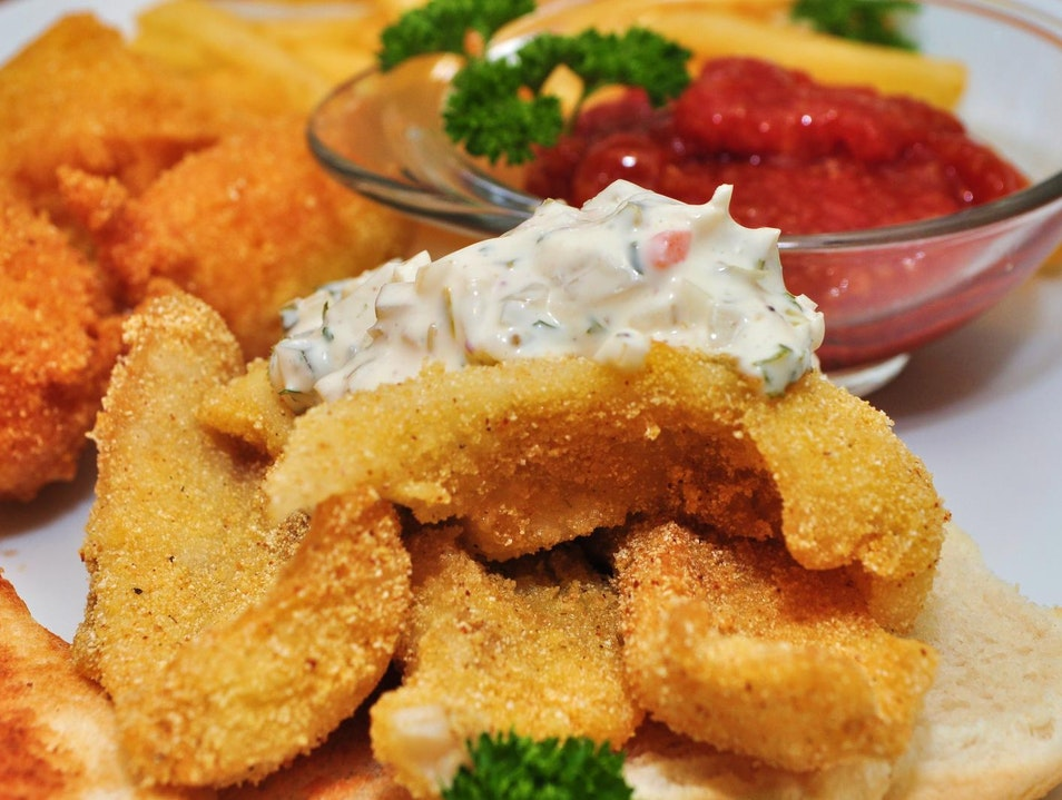 All-American Classic: Pan-Fried Walleye Madison Wisconsin United States