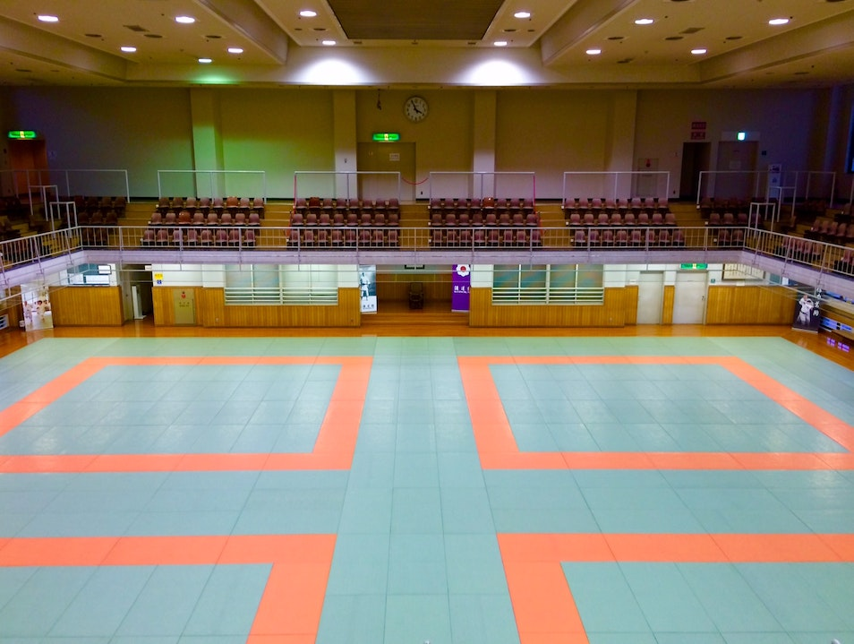 Kodokan International Judo Center Tokyo  Japan