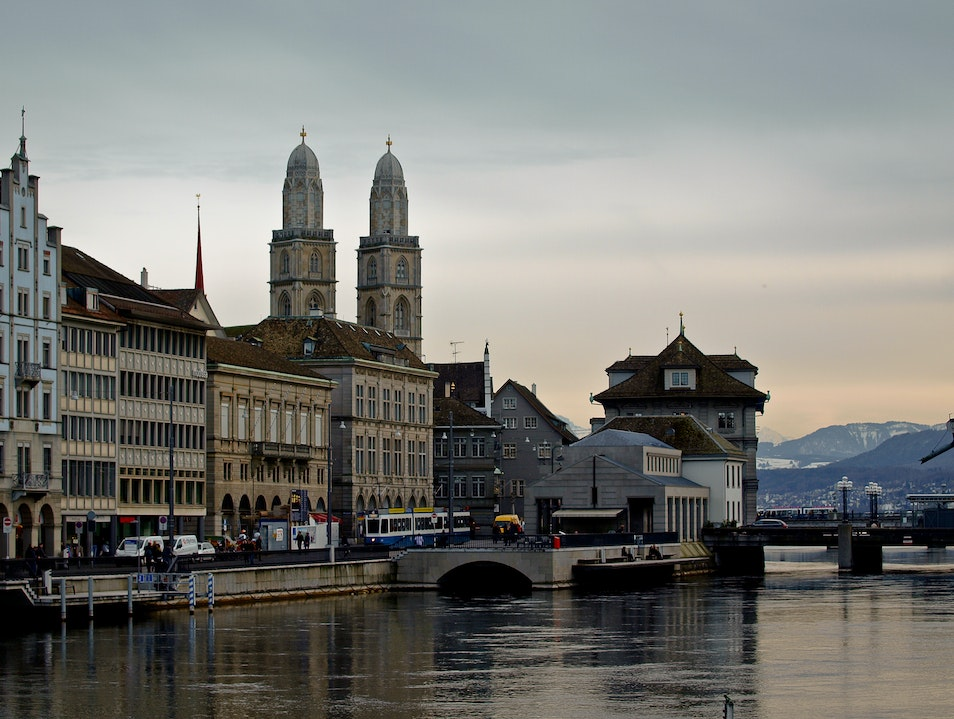 A Stroll Along the River Limmat