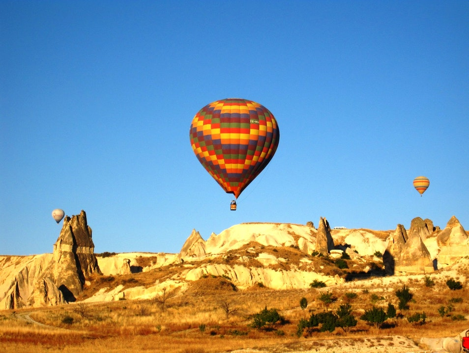 Hot Air Balloon Ride in Cappadocia Turkey Ürgüp  Turkey