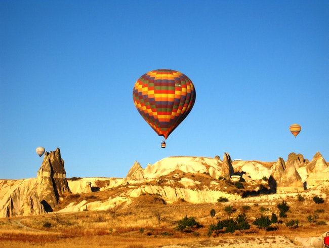 Hot Air Balloon Ride in Cappadocia Turkey