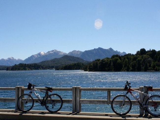 Biking in Bariloche