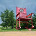 World's Largest Route 66 Rocking Chair  Cuba Missouri United States