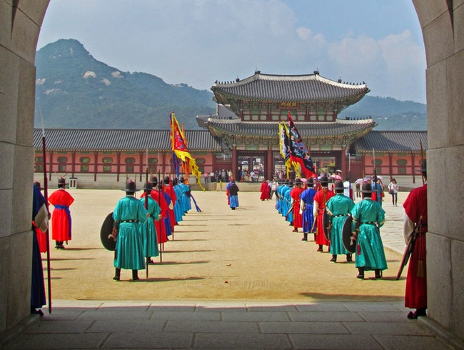 Through the Gate...Living History in Seoul