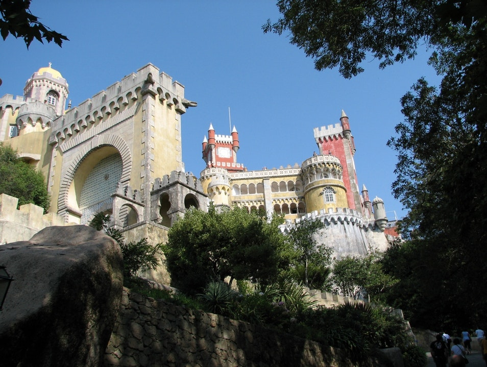 The Pena National Palace Sintra  Portugal