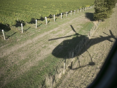 Vineyard Helicopter Tour Blenheim  New Zealand