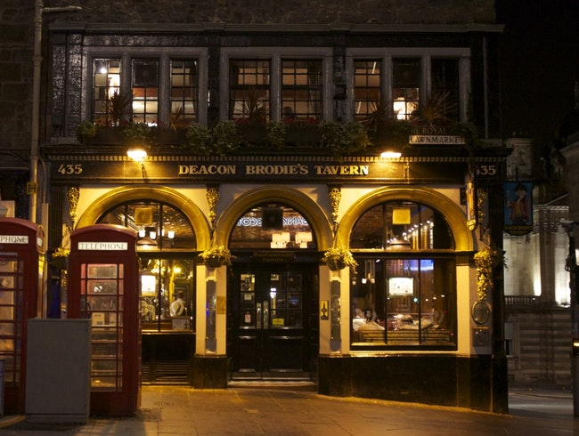 Eat Haggis in the Home of the Original Dr. Jekyll and Mr. Hyde.
