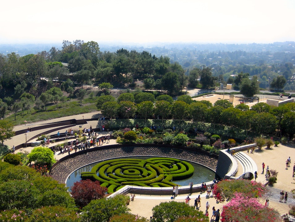 Art among Art on a Hill in LA Los Angeles California United States