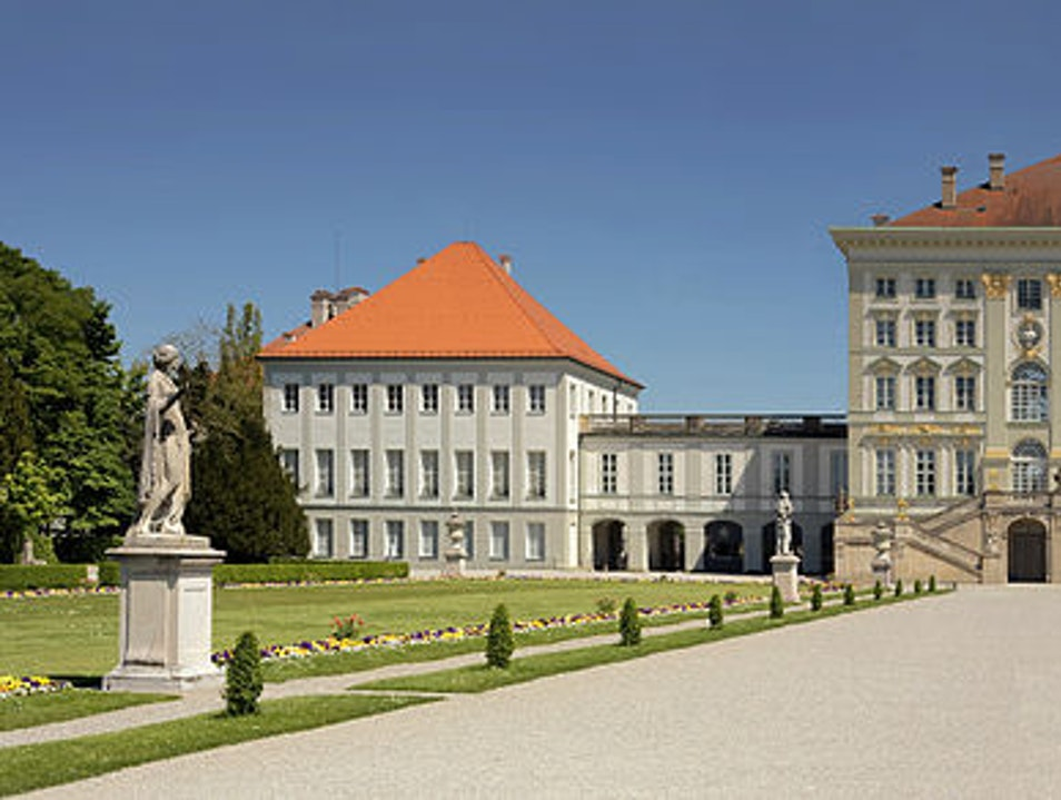 Former Summer Residence of Bavarian Royalty Munich  Germany