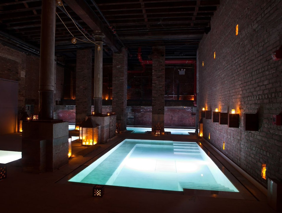 Relax at Aire Ancient Baths in Tribeca New York New York United States