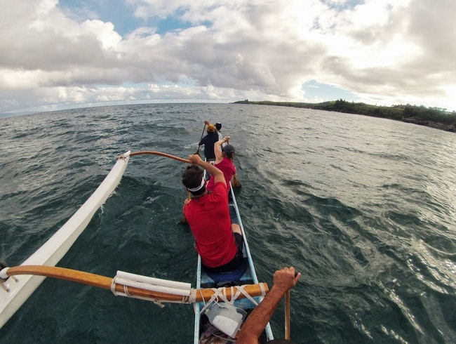 Learn to Paddle an Outrigger Canoe with Hawaiian Paddle Sports