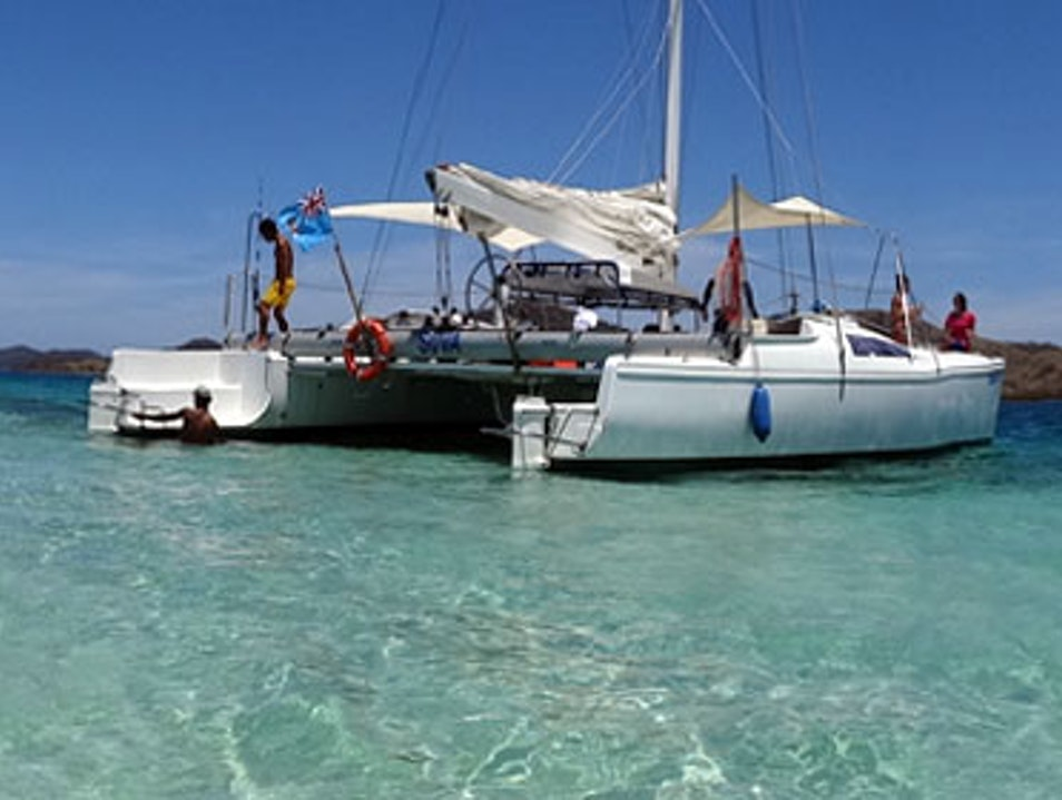 Sailing and Snorkeling on a Catamaran Denarau Island  Fiji