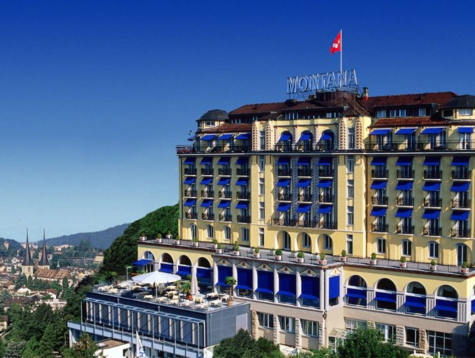 Hotel Montana: Big Skies in Luzern Switzerland Lucerne  Switzerland