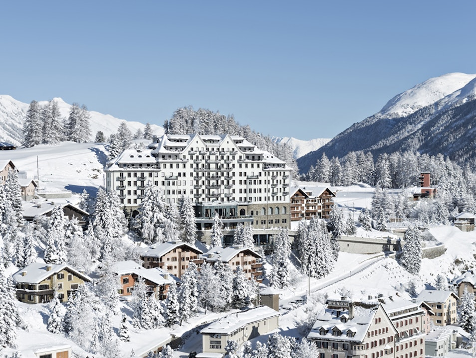 Skiing with Olympic Champs at Carlton Hotel St. Moritz