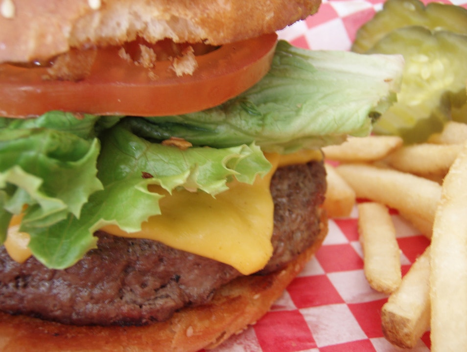 The Best Burger You've Ever Had at Le Tub, Hollywood Hollywood Florida United States