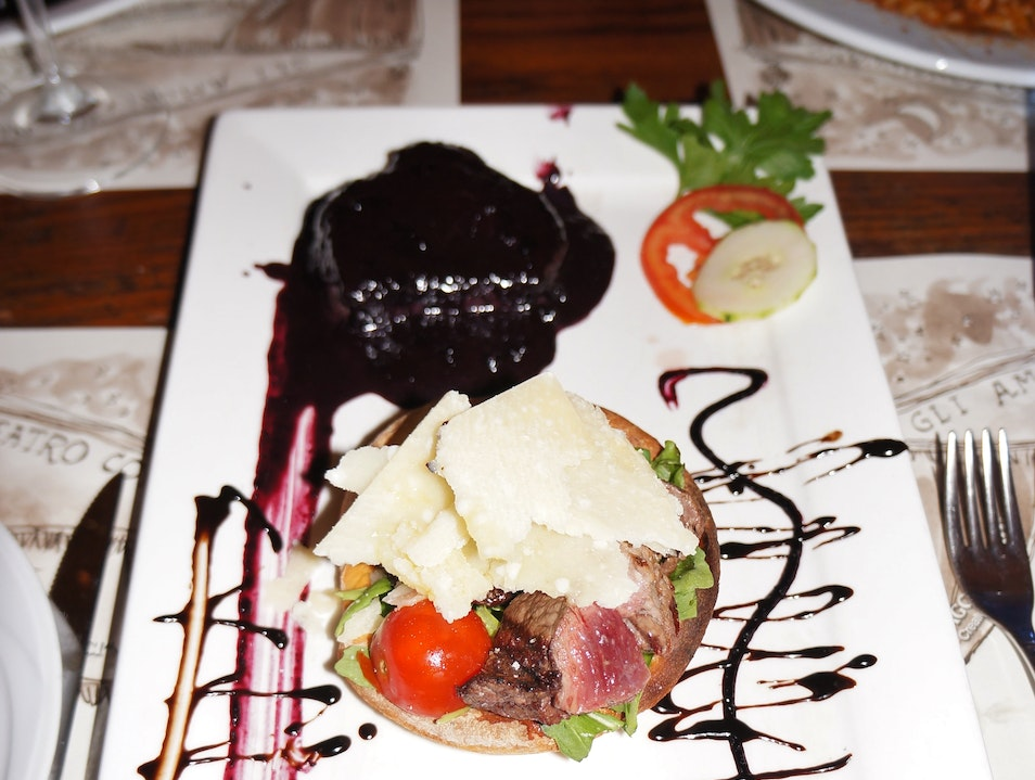 Go for the Blueberry Steak Florence  Italy