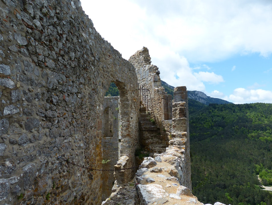Explore the Ruins at Puilaurens, a Medieval Cathar Castle Puilaurens  France