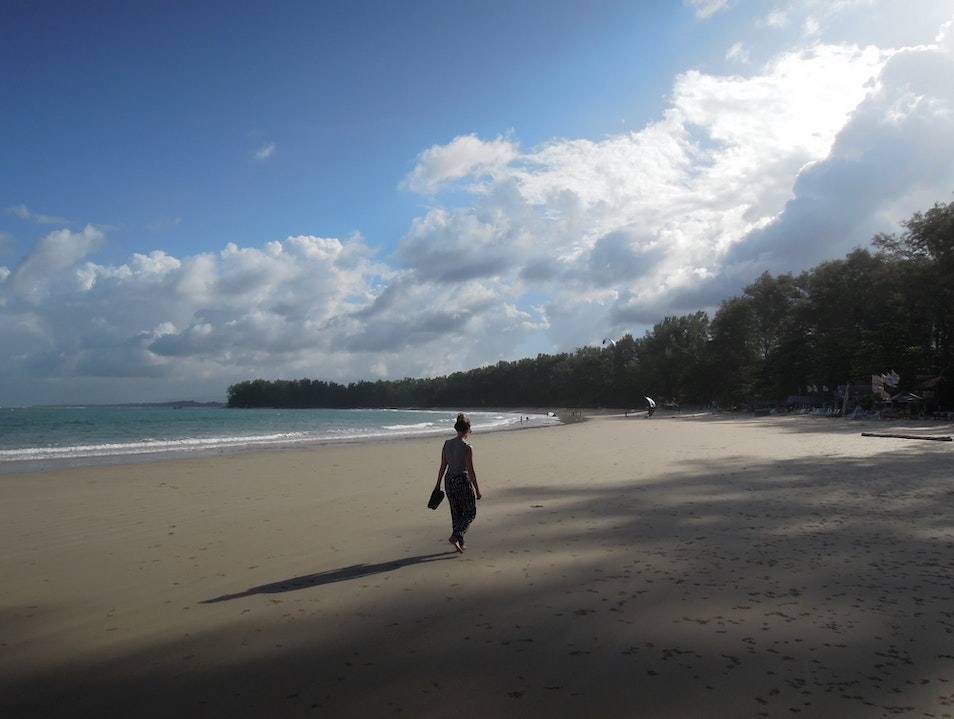 Relishing the moment on Nai Yang Beach, Thailand Tambon Mai Khao  Thailand
