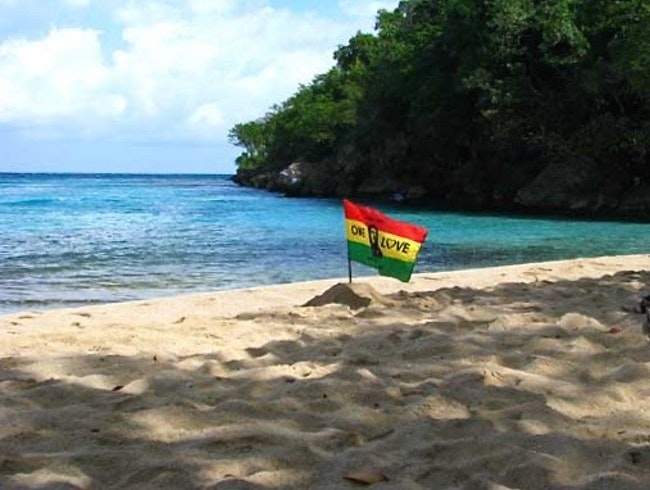 Jamming on Reggae Beach