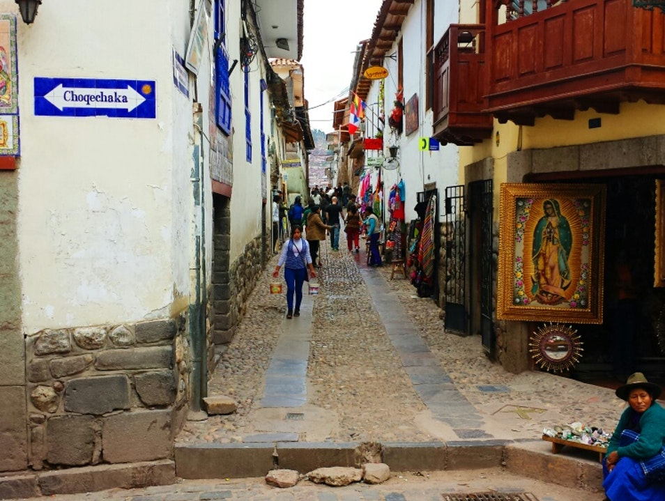 Streets of Cusco Cusco  Peru