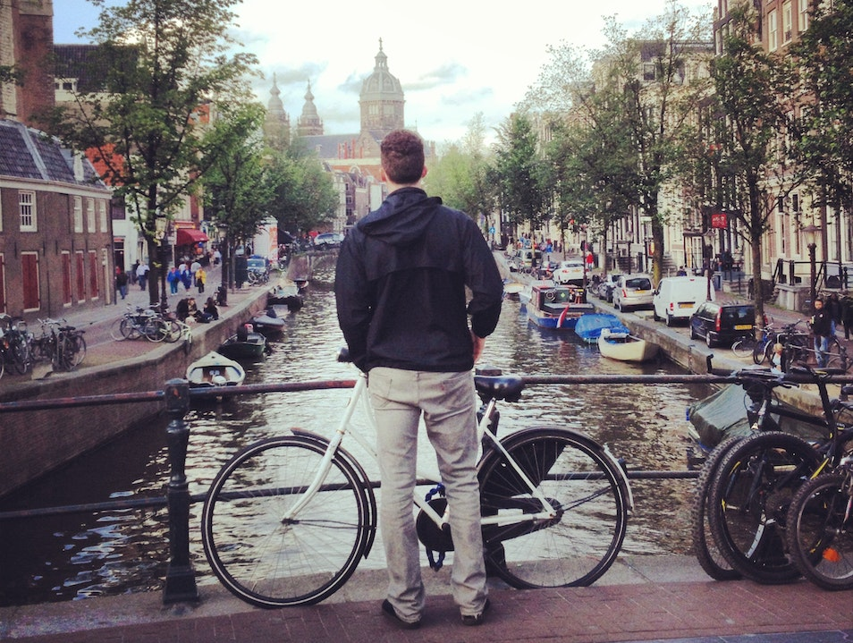 Amsterdam with a Sibling: It Happened.