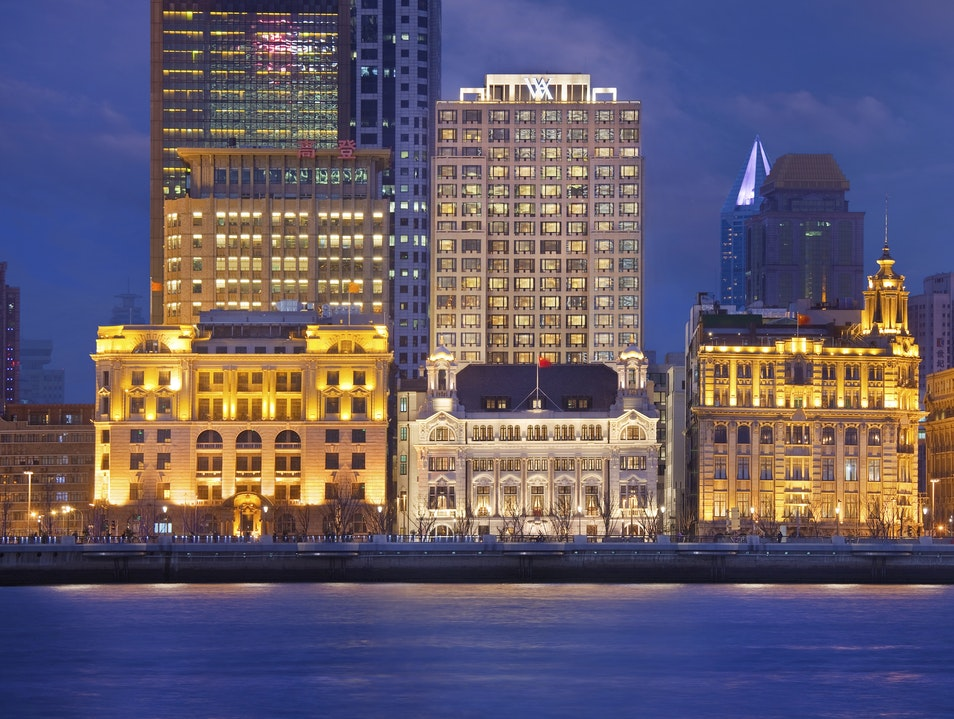 Waldorf Astoria Shanghai on the Bund Shanghai  China