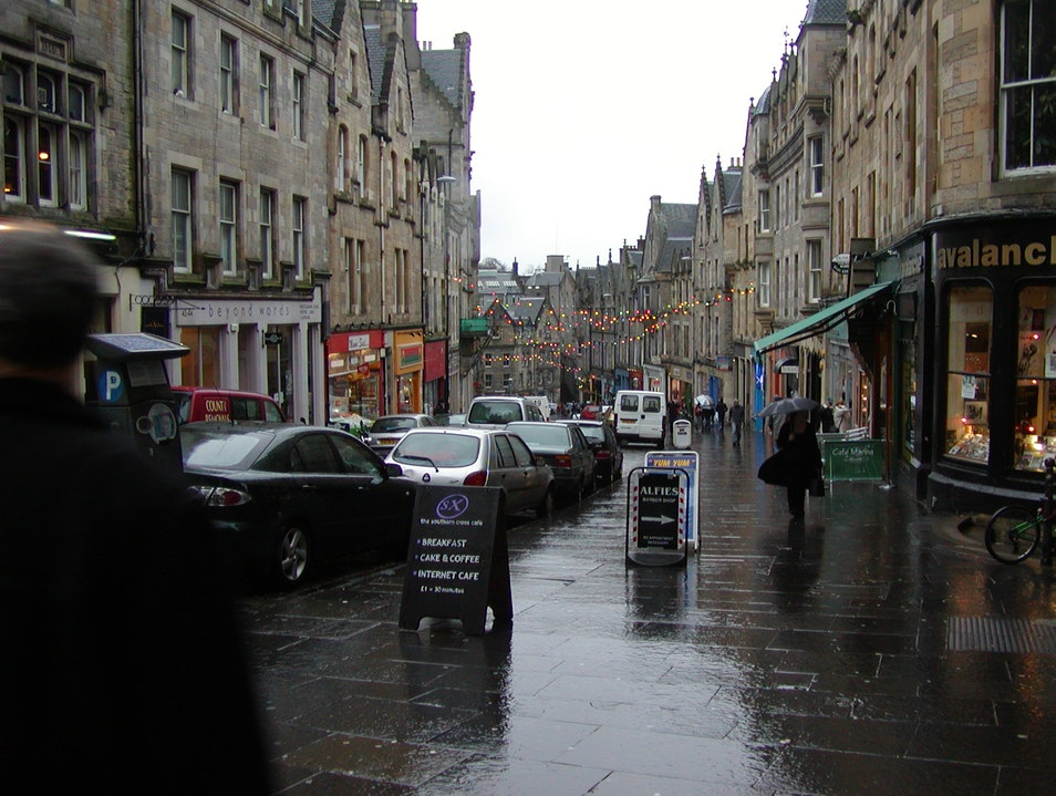 Christmastime in Edinburgh Edinburgh  United Kingdom