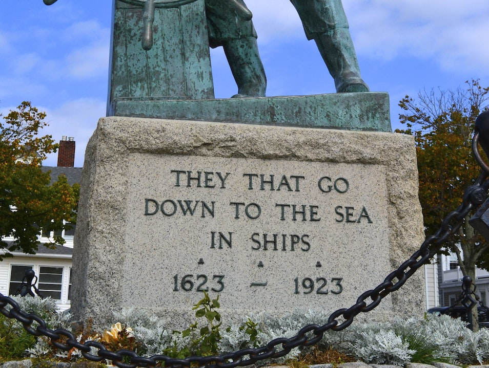 A Reminder of the Dangers at Sea Gloucester Massachusetts United States