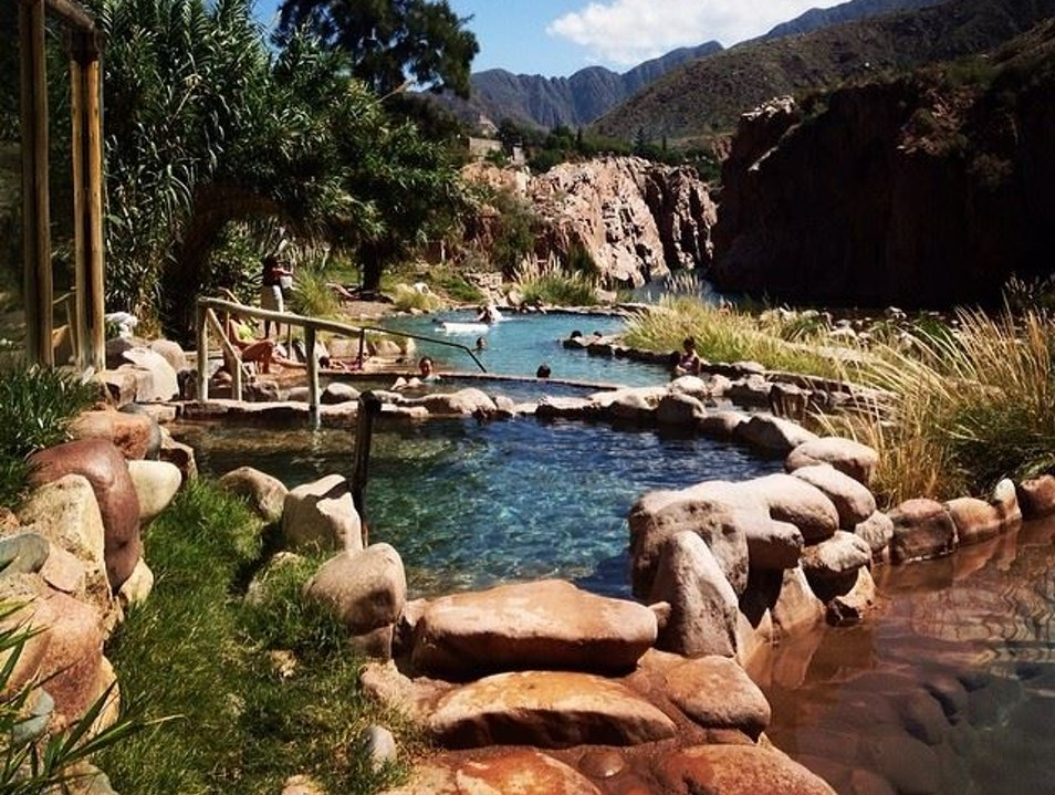 Melt in Mendoza's Thermal Baths