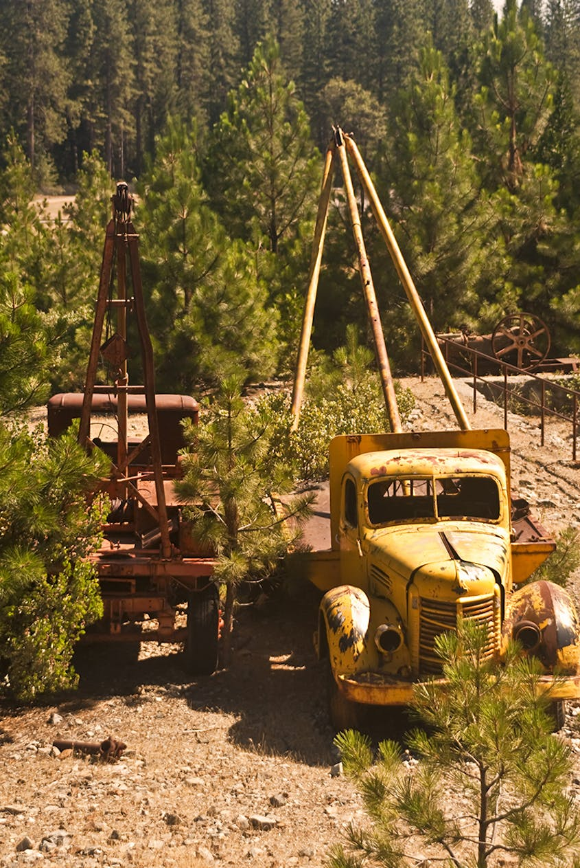 In its heyday, Empire Mine produced 5.8 million ounces of gold.
