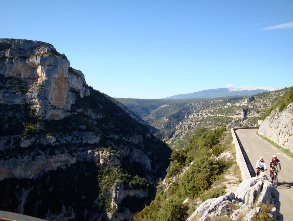 Eating and Drinking and Cycling Through Provence