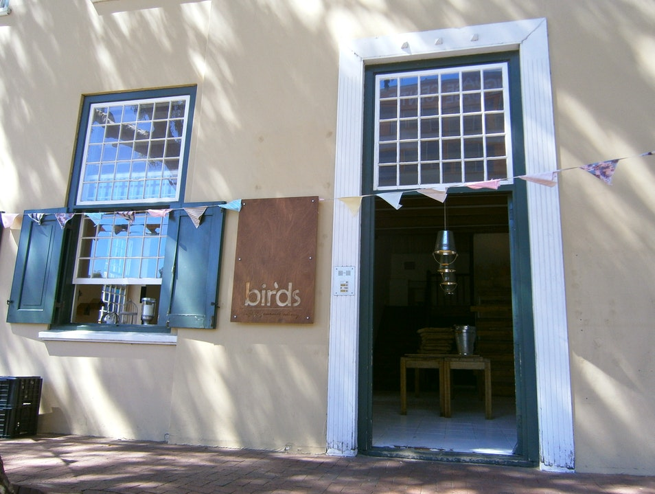 Breakfast at Birds Cafe Cape Town  South Africa