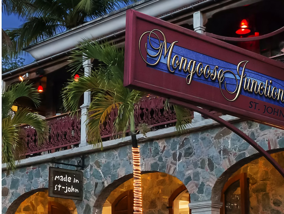 Mongoose Junction Shopping Center Cruz Bay  United States Virgin Islands