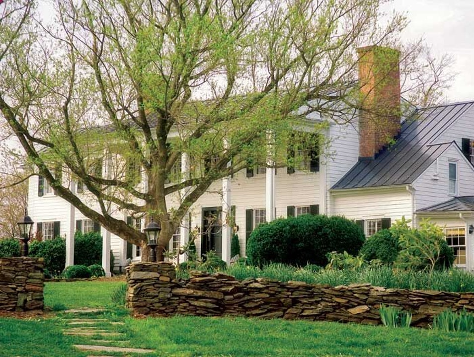 The Clifton Inn: A Secret Pleasure in Thomas Jefferson Country Charlottesville Virginia United States