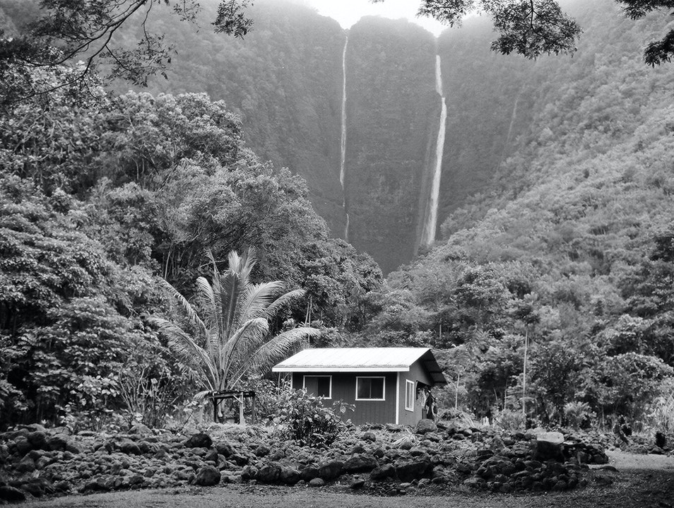 Waipio Valley Waterfall Hike Honokaa Hawaii United States