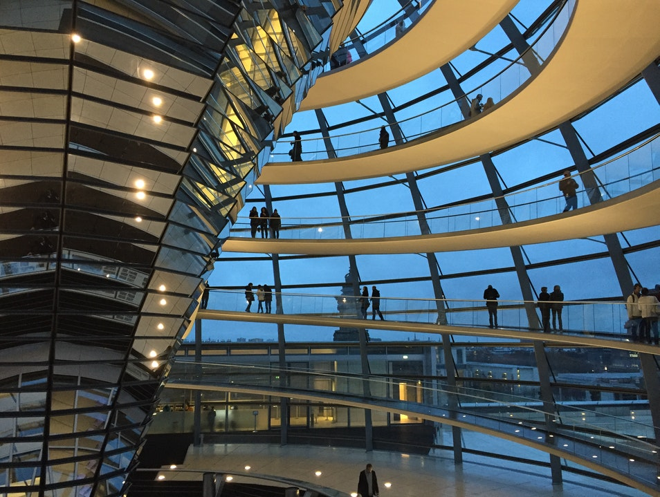 The Reichstag - The best way to get an overview of Berlin Berlin  Germany