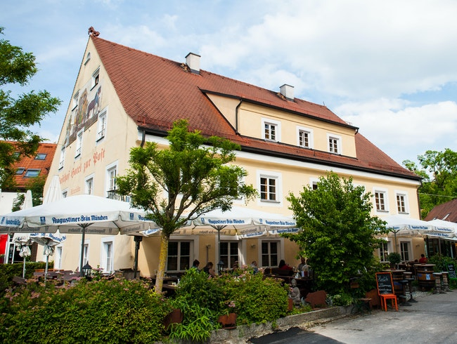Warm, Local Inn in Bavaria