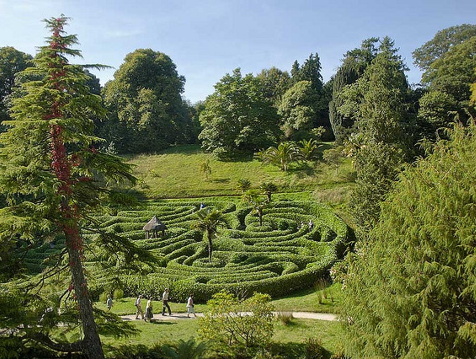 Glendurgan Garden, Cornwall- The Ideal Place to Lose Oneself Mawnan Smith  United Kingdom